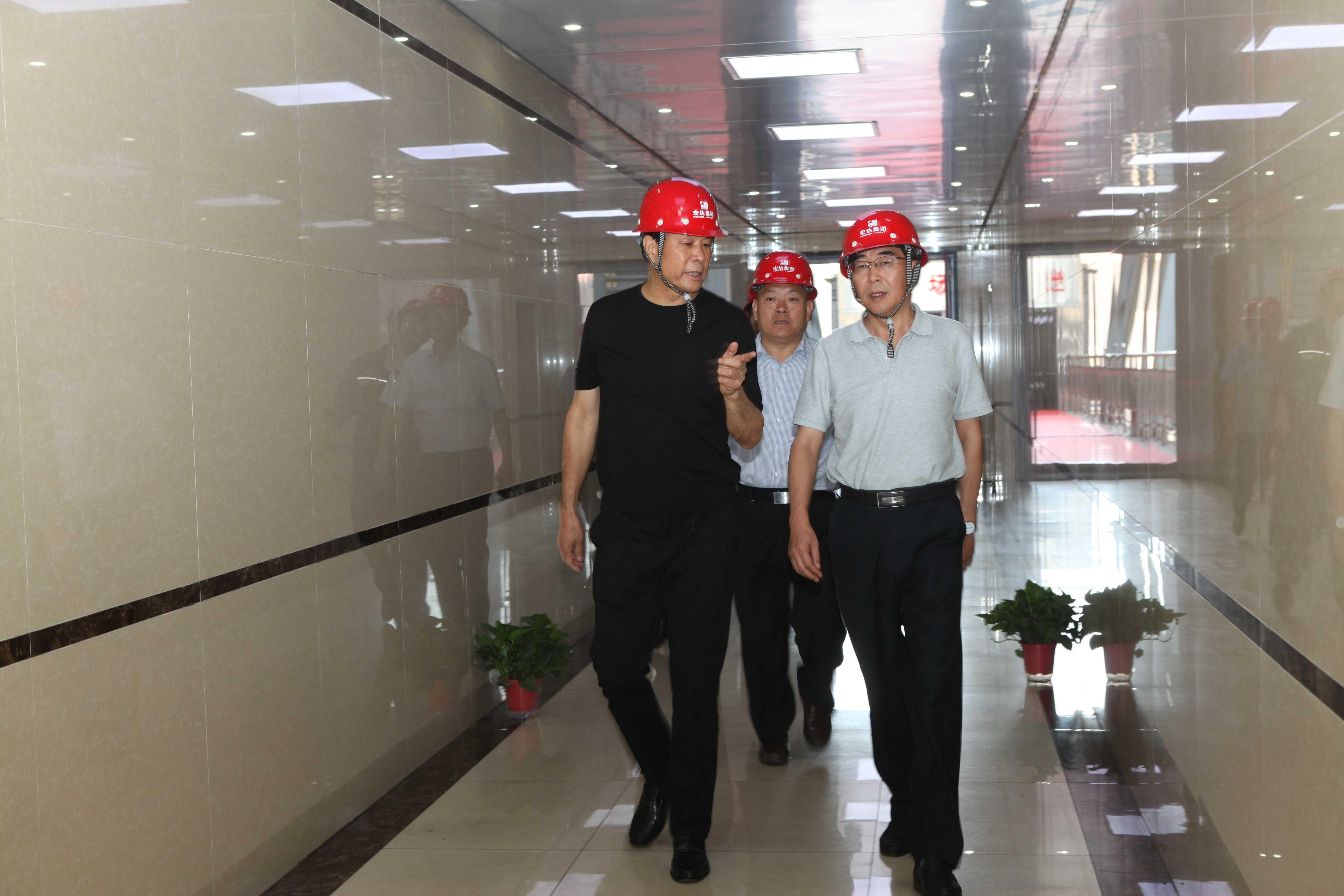 河津市委副书记市长何伟来集团调研