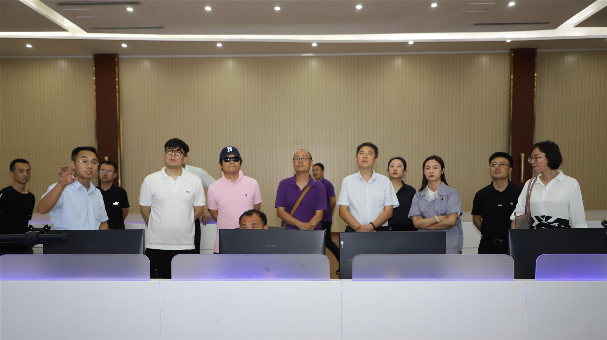 北京商业发展中心专家调研组在宏达集团调研
